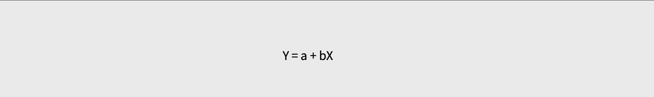 회귀분석의 계산 수식 이미지입니다.
